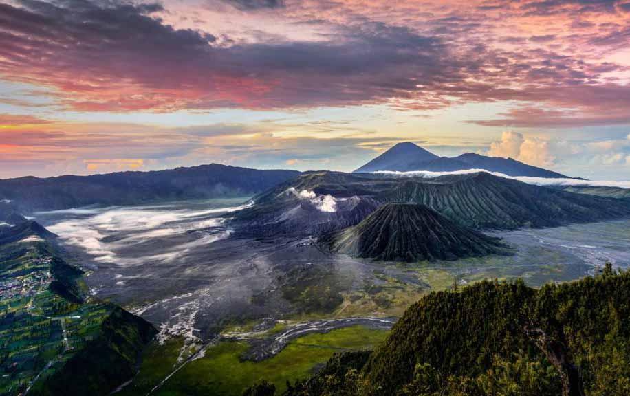 Amazing Bromo landscape