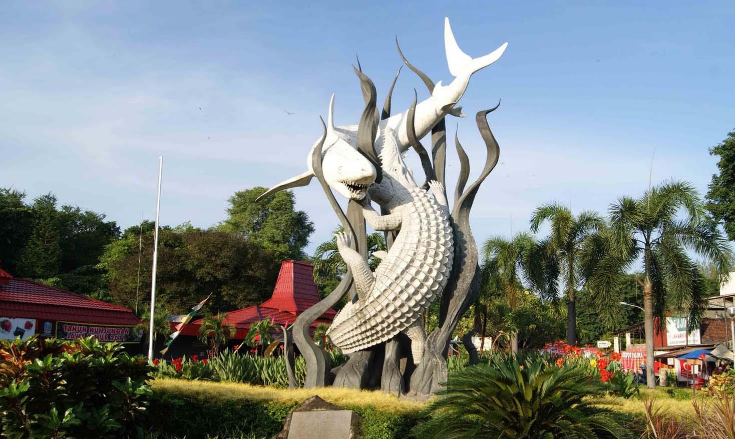 Surabaya city icon