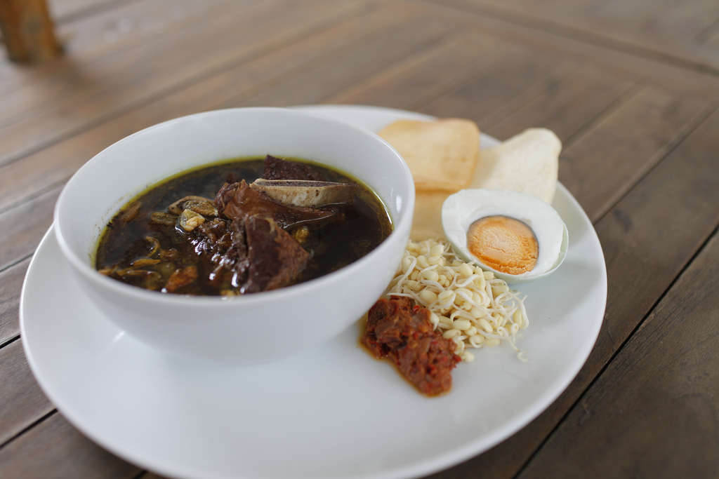 Rawon soup