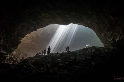 Light of the heaven - Jomblang cave