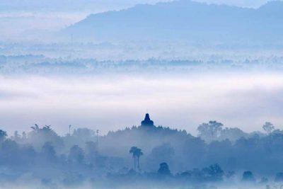Punthuk Setumbu Borobudur sunrise