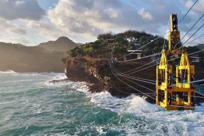 Timang beach cable car - Gunung Kidul