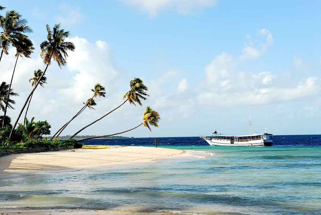 Beautiful beach in Wakatobi