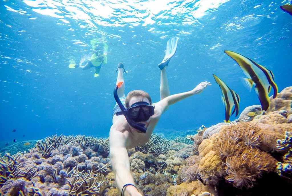 Enjoy unforgotable snorkeling activity in Indonesia