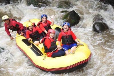 Rafting di Kaliwatu - Batu