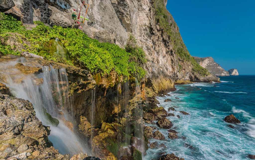 Guyangan waterfall - Nusa Penida