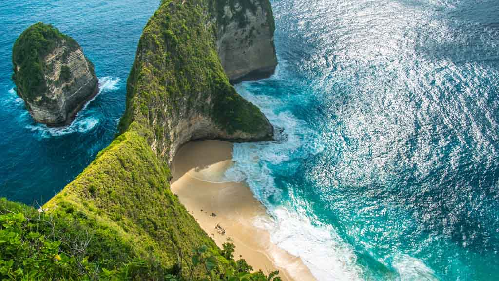 The iconic place of Nusa Penida