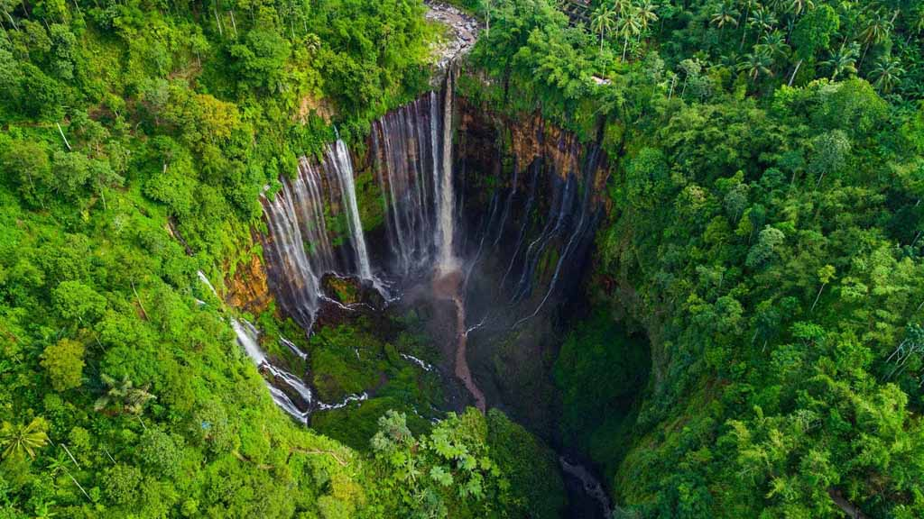 The amazing Tumpak Sewu fall
