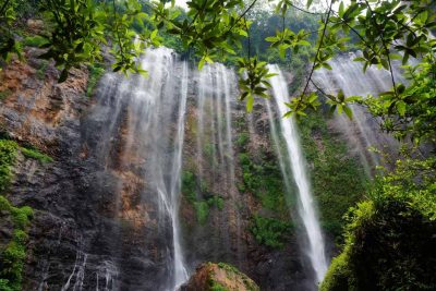Tumpak Sewu waterfall close view
