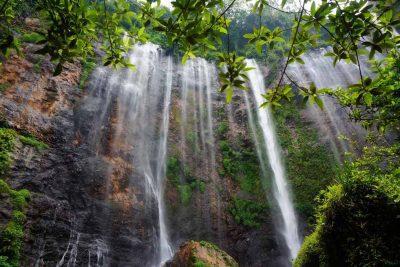 Tumpak Sewu waterfall close view