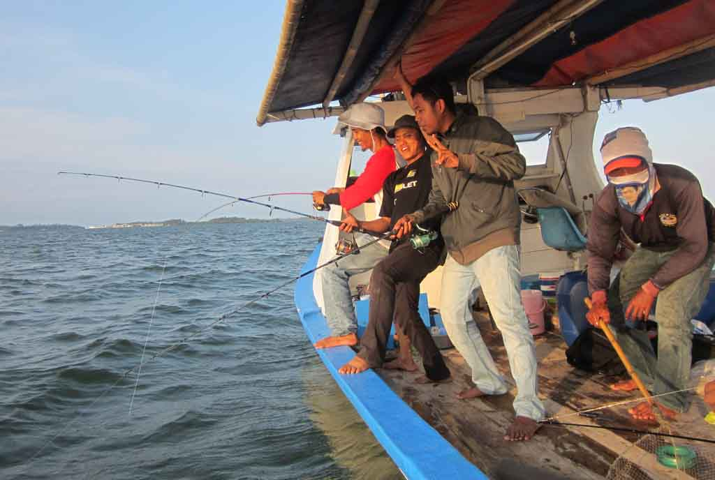 Fishing in the sea - Muncar Banyuwangi