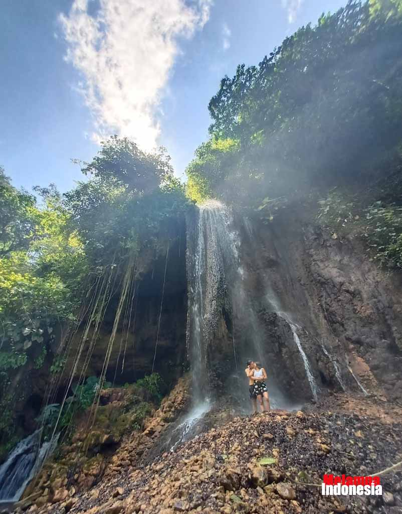 The beauty of Tumpak sewu waterfall